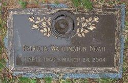 Dr Patricia Lee <i>Wadlington</i> Noah
