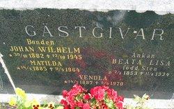 Beata Lisa <i>Sten</i> G�stgifvars