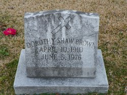 Dorothy <i>Shaw</i> Brown
