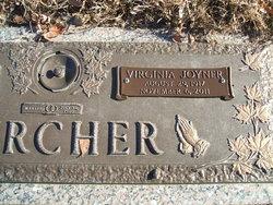 Virginia <i>Joyner</i> Burcher