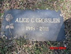 Alice Claudine <i>Shirk - Park</i> Crosslen