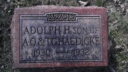 Adolph Herman Haedicke
