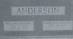 Margaret <i>Mackie</i> Anderson