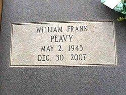William Franklin Franklin Peavy