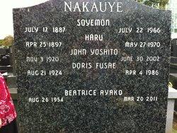 Soyemon Nakauye