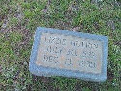 Elizabeth Ann Lizzie <i>McClellan</i> Hulion