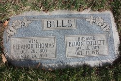 Eleanor Lucille <i>Thomas</i> Bills