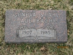 Geneva <i>Stahl</i> Auerbach