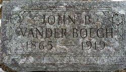 John B VanderBoegh