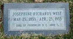 Josephine <i>Richards</i> West