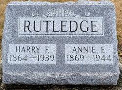 Anna Elizabeth Annie <i>Leistner</i> Rutledge