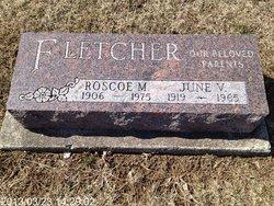June Virginia <i>Corlew</i> Fletcher