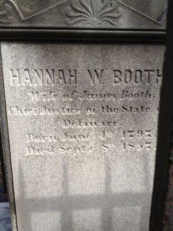 Hannah <i>Rogers</i> Booth