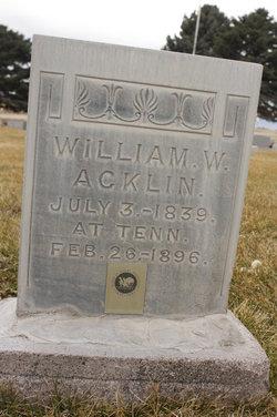 William White Acklin