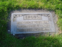 Agnes L <i>Lawdahl</i> Brown
