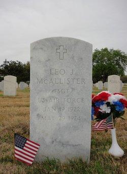Leo John McAllister