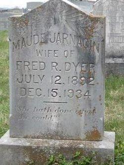 Maude <i>Jarnagin</i> Dyer