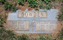 Stella Mae <i>Powell</i> Bowden