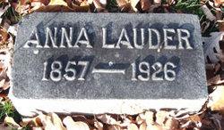 Anna <i>O'Hanlon</i> Lauder