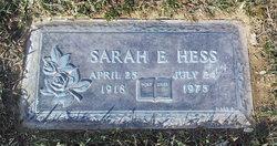 Sarah Eliza <i>Jones</i> Hess
