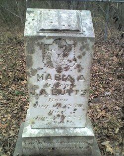 Maria <i>Mann</i> Butts