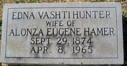 Edna Vashti <i>Hunter</i> Hamer
