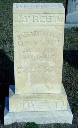 Margaret Maggie <i>Guyton</i> Boyett