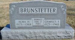 Hulda Alma <i>Rumple</i> Brunstetter