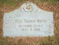 Dick Thomas Watts