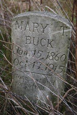 Mary T. <i>Hardee</i> Buck