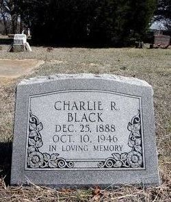 Charlie Robert Black