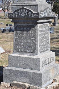 Helen W <i>Eanes</i> Heller