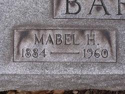 Mabel H <i>Harvey</i> Barbour