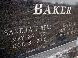 Sandra J <i>Bell</i> Baker