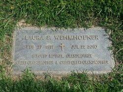 Laura Elizaabeth <i>Millsterad</i> Wehmhoener