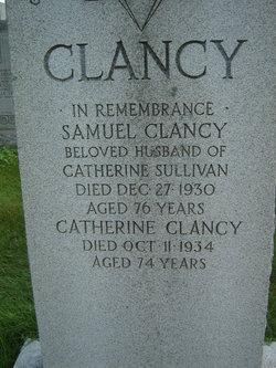 Catherine <i>Sullivan</i> Clancy