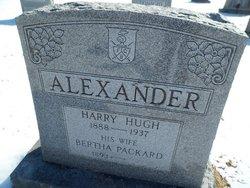 Bertha <i>Packard</i> Alexander
