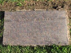 Minnie R. Boyer