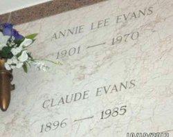 Annie Lee <i>Skipper</i> Evans