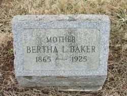Bertha L <i>Rice</i> Baker