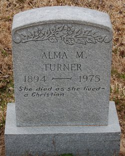 Alma M. <i>Rollison</i> Turner