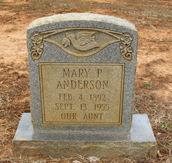 Mary P. Anderson