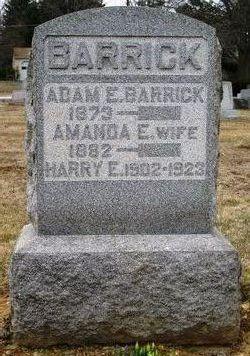Amanda E. <i>Bardall</i> Barrick