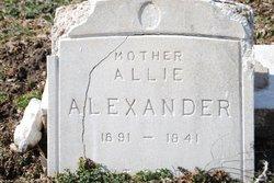 Allie Alexander