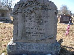 Sarah H. <i>Clegg</i> Ashcroft