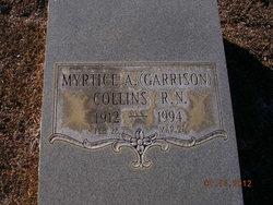 Myrtice A <i>Garrison</i> Collins