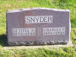 Charles F. Snyder