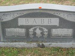 Bessie Mae <i>Walker</i> Babb