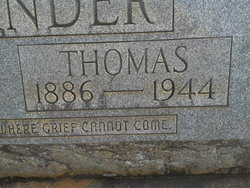 Thomas Elbert Alexander