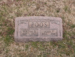 Bertha <i>Bouchat</i> Poos